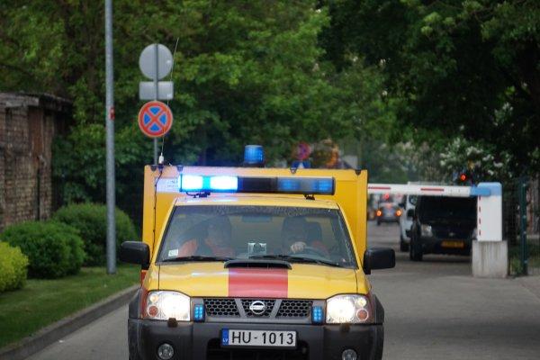 Avārijas dienests rūpējas par iedzīvotāju drošību
